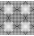 square pattern background - black and white vector image vector image