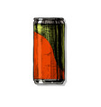 beverage can vector image