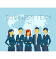 Business team human resources vector image vector image