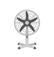 desk air fan realistic summer vector image