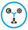 Euro Development Links Icon vector image vector image