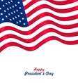 Flag USA Waving Wind for Happy Presidents Day