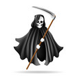 grim reaper character vector image