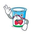 okay yogurt character cartoon style vector image vector image