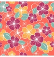 abstract seamless floral pattern Colorful vector image