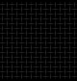 checkered wired fence background vector image vector image