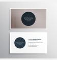 Elegant wavy lines business card design background