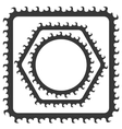 Grey Frames vector image vector image