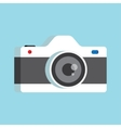 photo camera with lens vector image