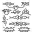 Set rope knots