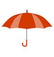 red umbrella icon yellow umbrella icon isolated vector image