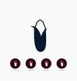 corn icon simple gardening element symbol design vector image vector image