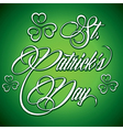 Creative design for St Patricks Day vector image