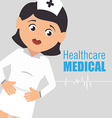 healthcare medical vector image vector image