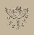 Holyspirit fire icon vector image vector image