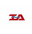 iA company logo vector image vector image