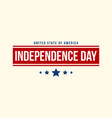 independence day background design collection vector image vector image