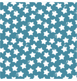 seamless pattern of stars and dots vector image