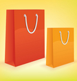 shopping bags vector image