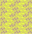 Abstract background Pattern in yellow and violet vector image vector image