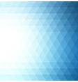 Abstract blue geometric technology background vector image vector image
