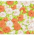 background of delicate pions vector image vector image