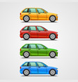 Car color set art