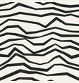 jagged monochrome seamless pattern vector image vector image