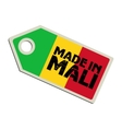 Made in Mali vector image