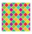 Rhombus pattern vector image vector image