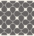 seamless pattern concentric circle shapes vector image