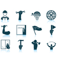 Set of Labour Day icons vector image