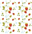 Strawberries Seamless vector image vector image
