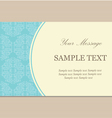 vintage bussiness card vector image vector image