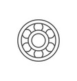ball bearing line outline icon