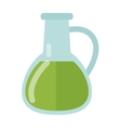 Carafe with liquid vector image vector image
