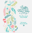 happy new year design concept vector image vector image