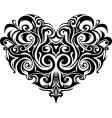heart-shape vector image vector image