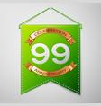 Ninety nine years anniversary celebration design
