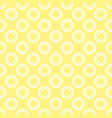seamless pattern with white polka dots on a sunny vector image vector image