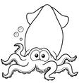 Squid vector image vector image