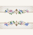 vintage decorative background vector image vector image