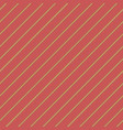 vintage red striped background seamless pattern vector image vector image