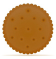 biscuit 02 vector image