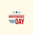collection independence day celebration style vector image vector image