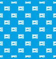 microwave pattern seamless blue vector image vector image
