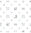 plane icons pattern seamless white background vector image vector image