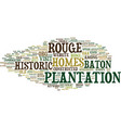 baton rouge homes for sale text background word vector image vector image