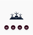 beet or radish growing icon simple gardening vector image