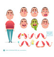 boy emoji face icons and symbols vector image